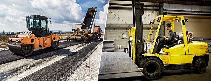 пътно строителни машини и подемно транспортна техника, Електрокари